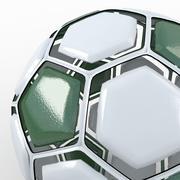 Fotbollsplanen är grön 3d model