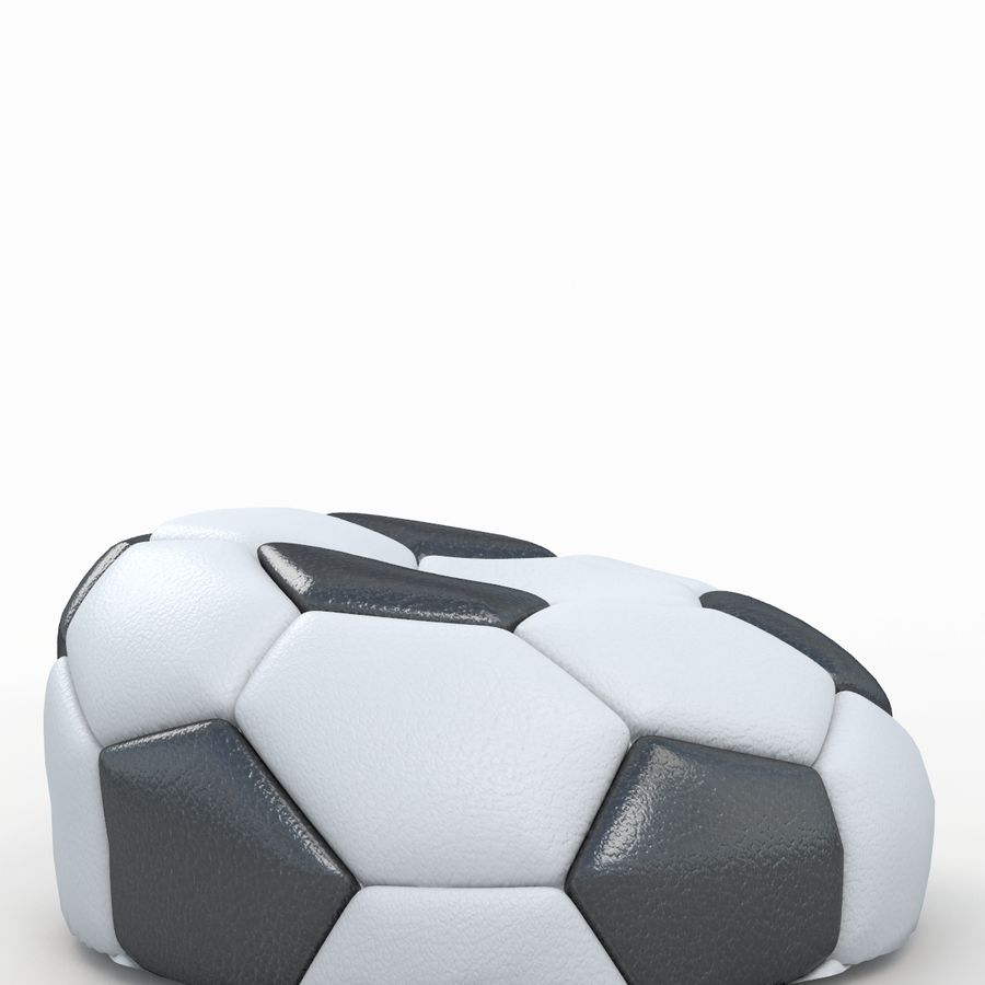 Soccerball vide royalty-free 3d model - Preview no. 2