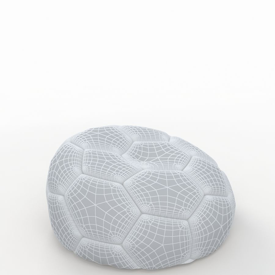 Soccerball vide royalty-free 3d model - Preview no. 8