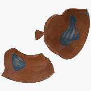 Broken Pottery 3d model