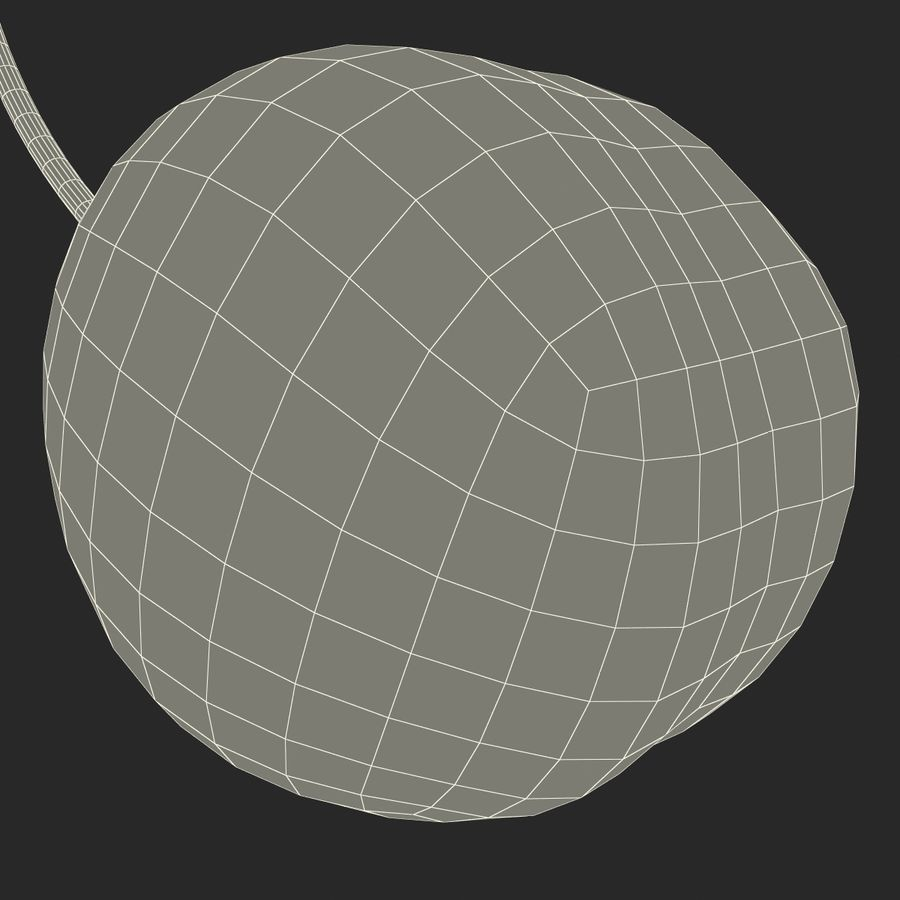 Cherry royalty-free 3d model - Preview no. 21