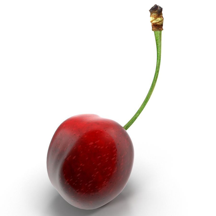 Cherry royalty-free 3d model - Preview no. 2
