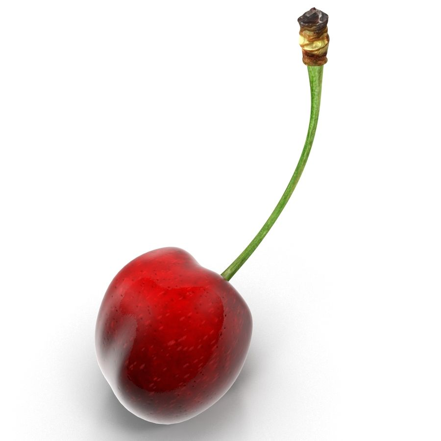 Cherry royalty-free 3d model - Preview no. 6