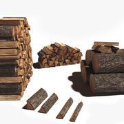 Firewood Log Pack 3d model