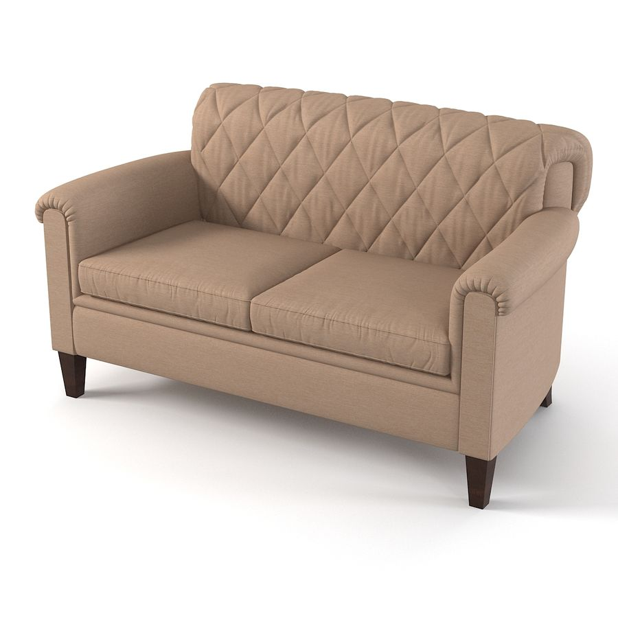 Tosato Furniture  Sofa royalty-free 3d model - Preview no. 1