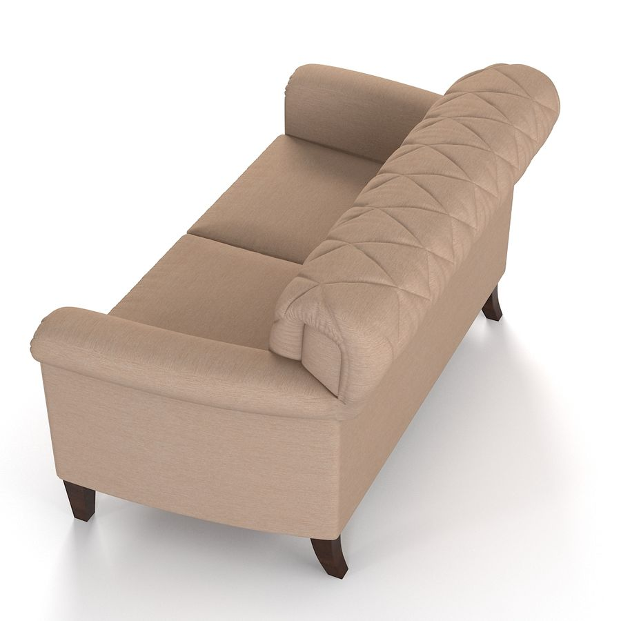 Tosato Furniture  Sofa royalty-free 3d model - Preview no. 3