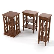 Tosato Side Tables 3d model