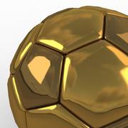 足球大洞金色 3d model