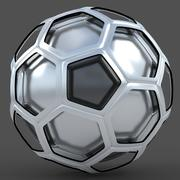 Soccerball TV show metal 3d model