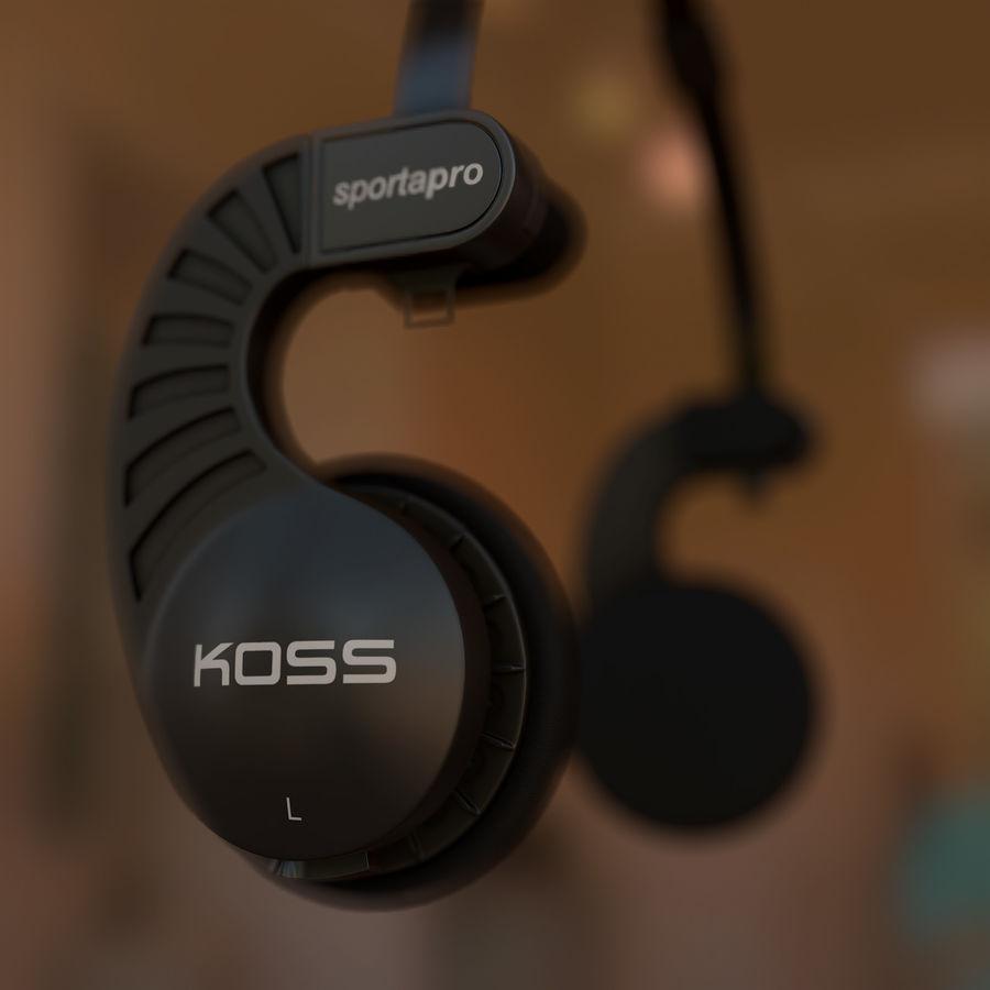 КОСС Спорта Про royalty-free 3d model - Preview no. 7