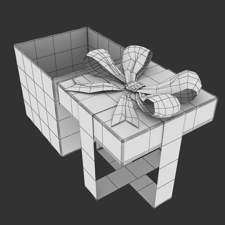 ギフト用の箱 royalty-free 3d model - Preview no. 11