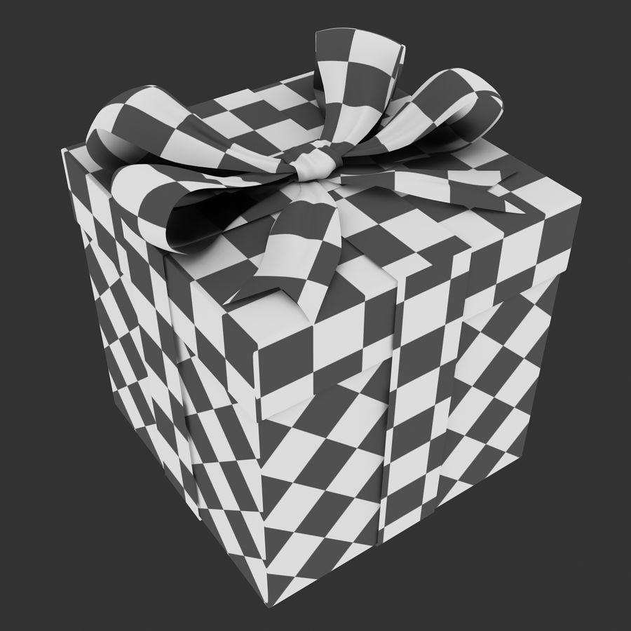 ギフト用の箱 royalty-free 3d model - Preview no. 13