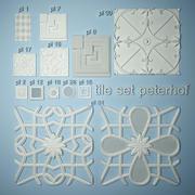 彼得霍夫镶瓷砖 3d model