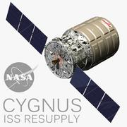 Cygnus Resupply ISS 3d model