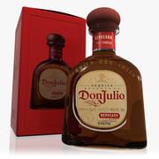 Don Julio Reposado Tequila Set 3d model
