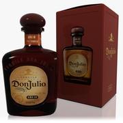 Don Julio Añejo Tequila Set 3d model