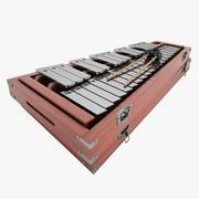 Xylofon 02 3d model