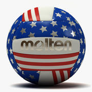 Molten USA Flaggvolleyboll 3d model