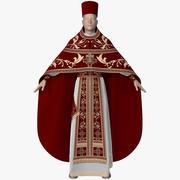 Kläderna för prästen 3d model