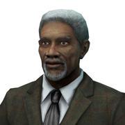 Morgan Freeman 3d model