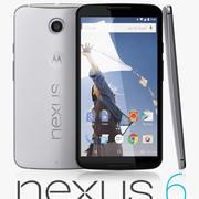 Google Nexus 6 3d model