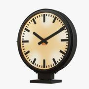 恢复硬件-火车站时钟 3d model