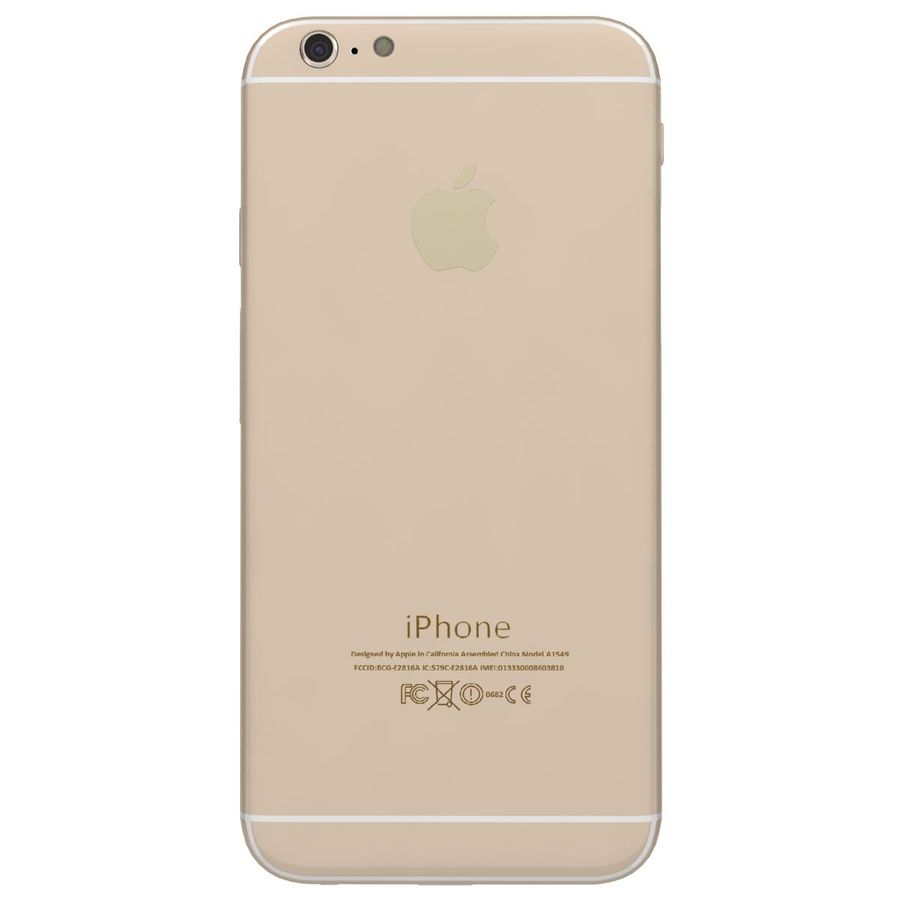 Apple iPhone 6 royalty-free 3d model - Preview no. 7
