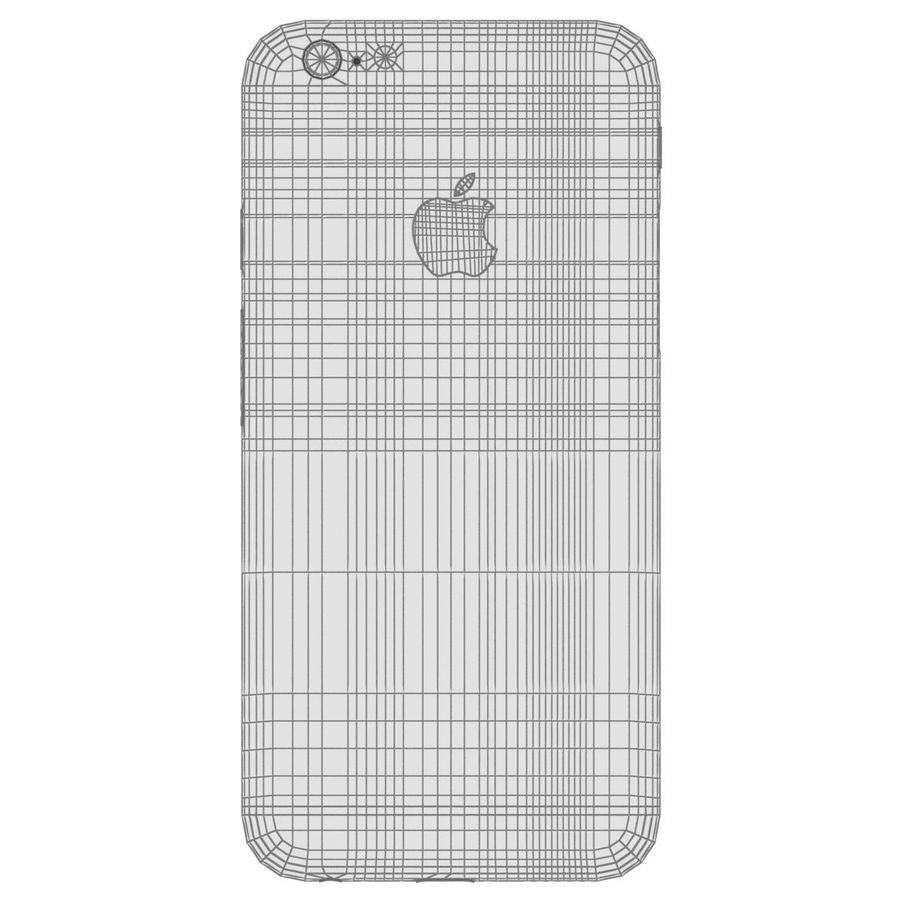 Apple iPhone 6 royalty-free 3d model - Preview no. 28