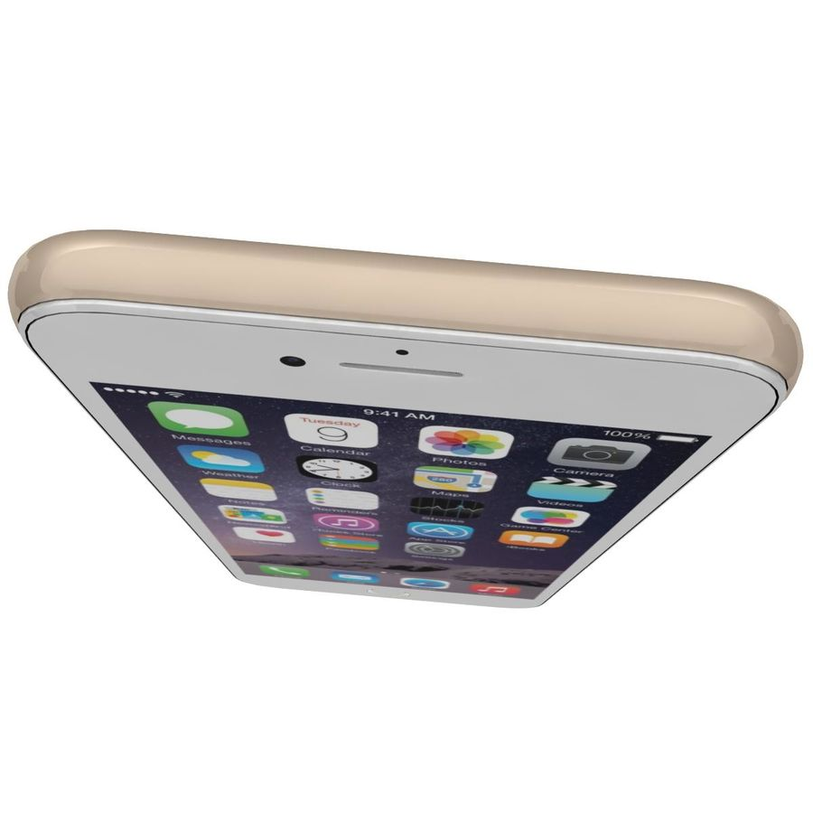 Apple iPhone 6 royalty-free 3d model - Preview no. 11