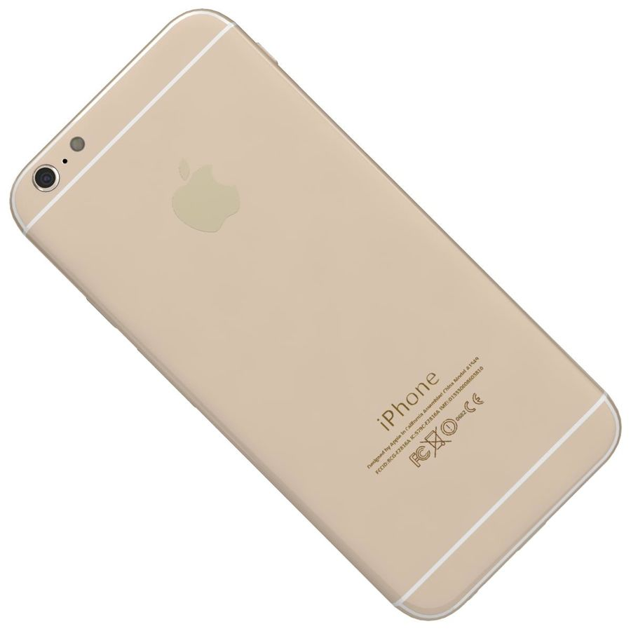 Apple iPhone 6 royalty-free 3d model - Preview no. 22