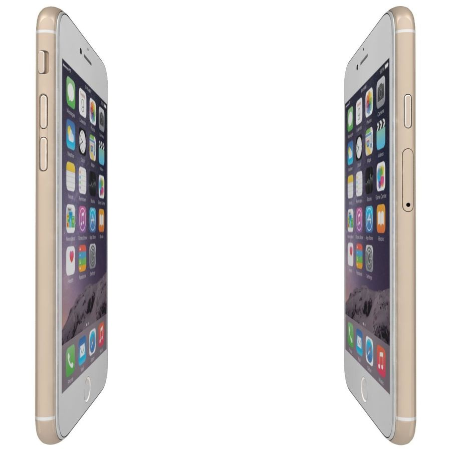 Apple iPhone 6 royalty-free 3d model - Preview no. 10