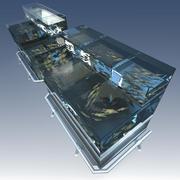 Acuario modelo 3d