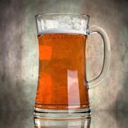 Piwo w szkle 4 3d model