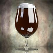 Piwo w szkle 5 3d model