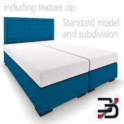 Bed Boxsrping 3d model