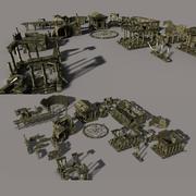 Ruins Ancient City 3d model