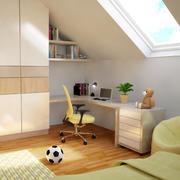 어린이 침실 3d model