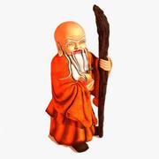 Shou Xing Buddhist Monk 3d model