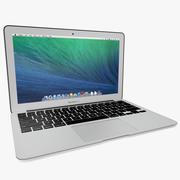 苹果MacBook Air Mid 2014(11英寸) 3d model