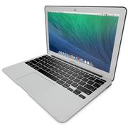 Apple MacBook Air Mid 2014(11インチ) 3d model