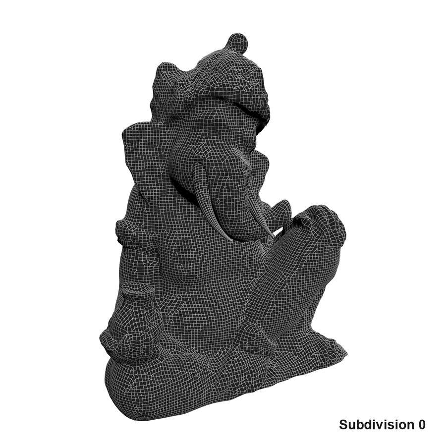 Ganesha Heykeli royalty-free 3d model - Preview no. 14