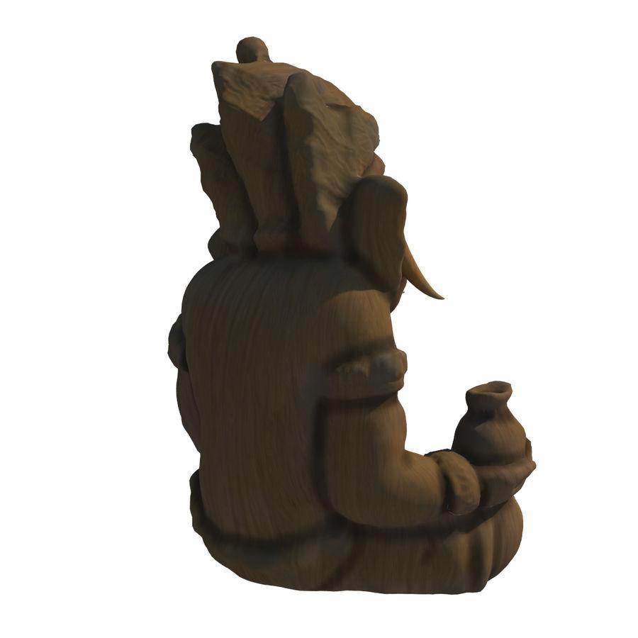 Ganesha Heykeli royalty-free 3d model - Preview no. 8