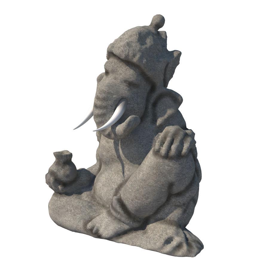 Ganesha Heykeli royalty-free 3d model - Preview no. 3
