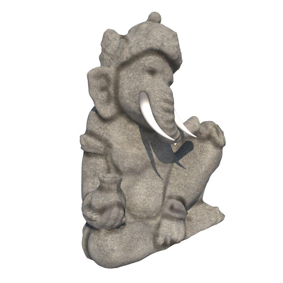 Ganesha Heykeli royalty-free 3d model - Preview no. 5