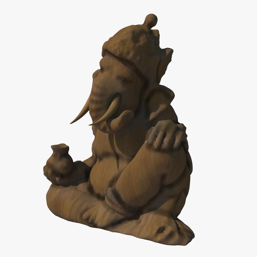Ganesha Heykeli royalty-free 3d model - Preview no. 1