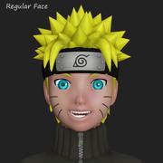 Naruto Uzumaki shippuden 3d model
