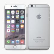 Apple iPhone 6 Silver 3d model
