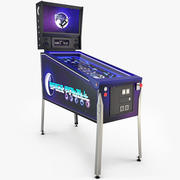 Space Pinball Machine 3d model