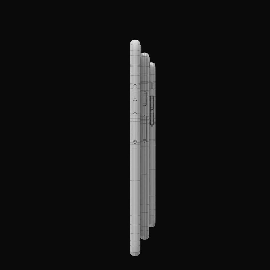 Apple iPhone 6 och Apple iPhone 6 Plus royalty-free 3d model - Preview no. 11