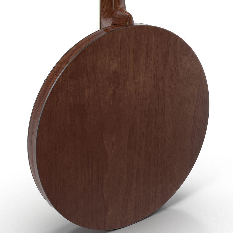 Banjo royalty-free 3d model - Preview no. 15